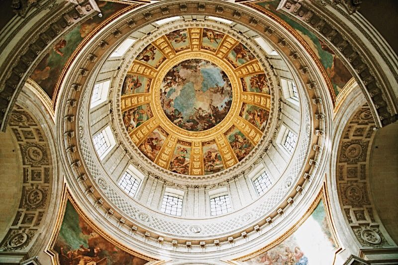 Paris-Invalides-Tour-Dome