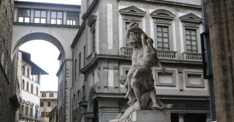 Florence City, Accademia with Michelangelo's David & Uffizi Museum Skip-the-Line Combo Tour – Semi-Private