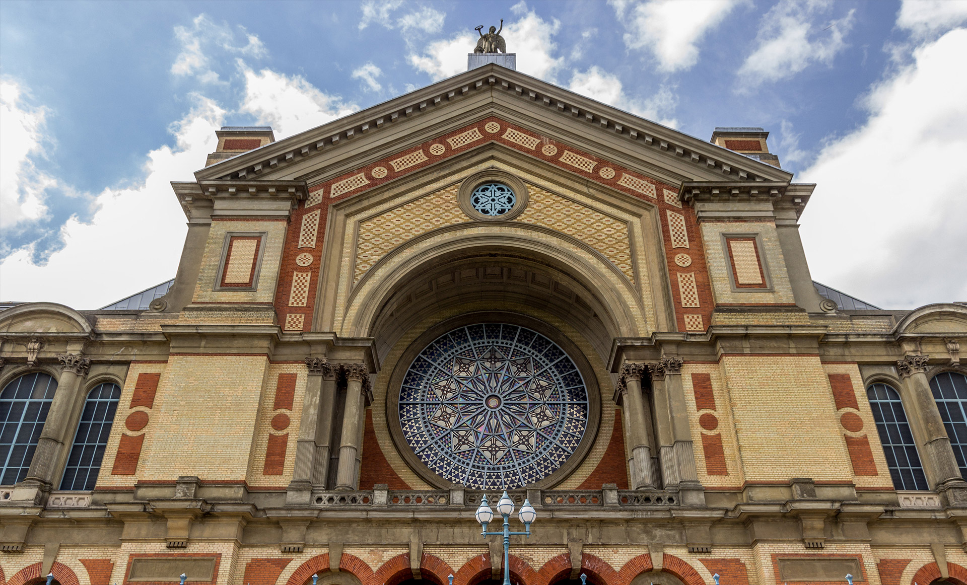 Visiting the Alexandra Palace in London