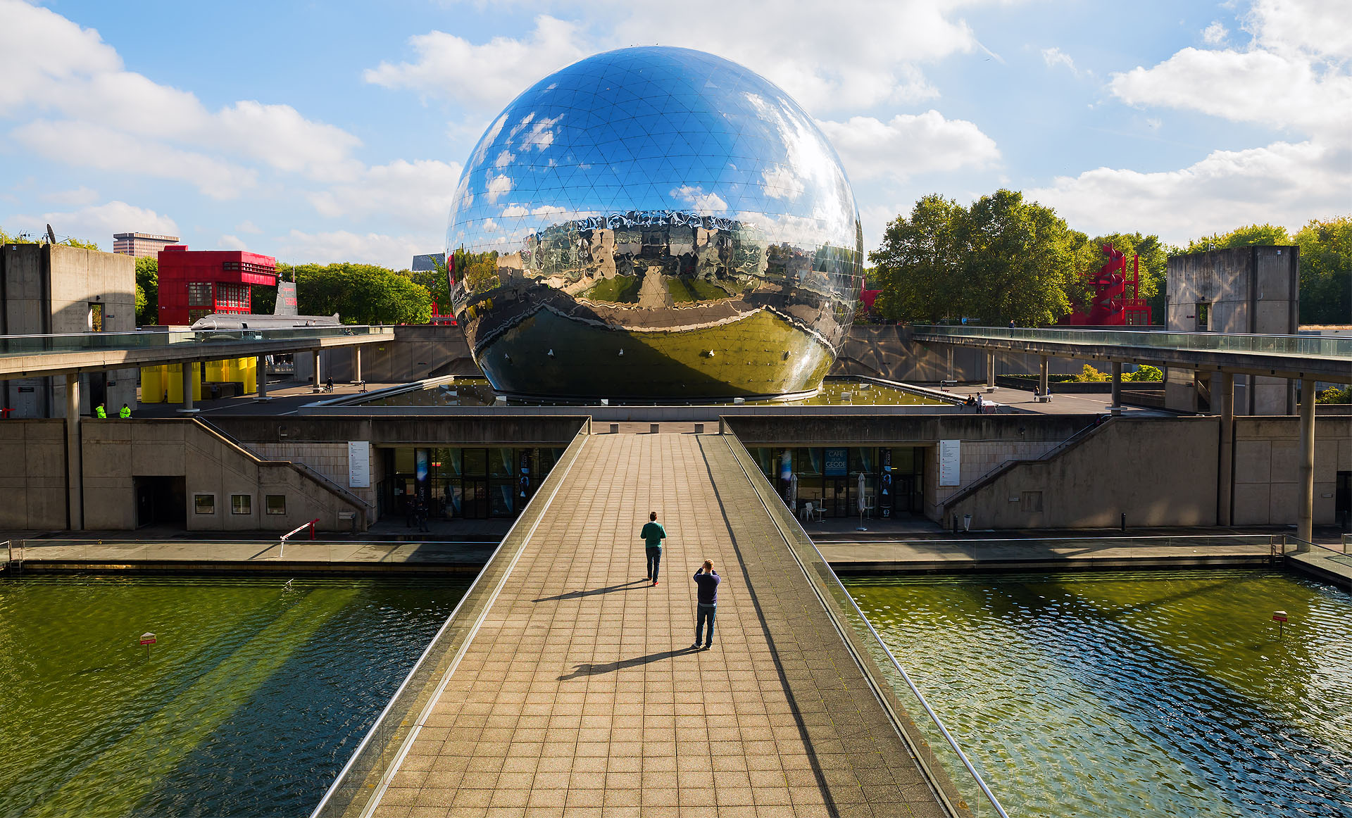Exploring the City of Science and Industry in Paris