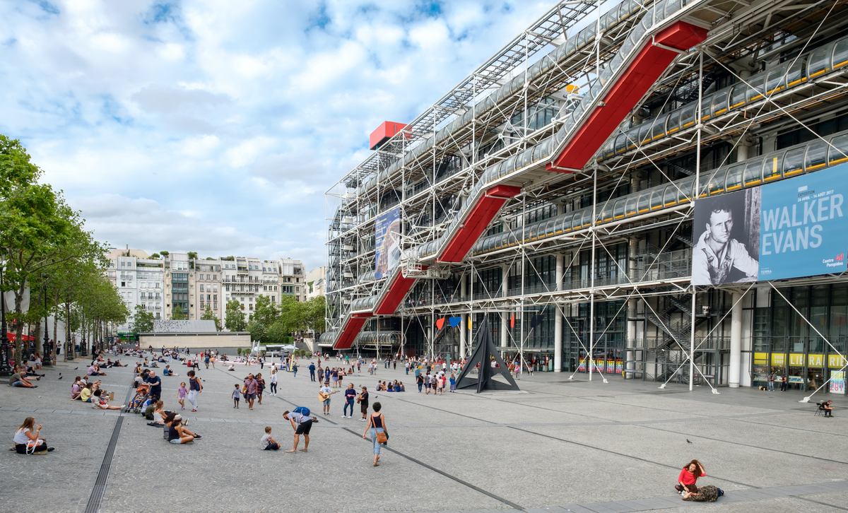Visiting the Centre Georges Pompidou in Paris
